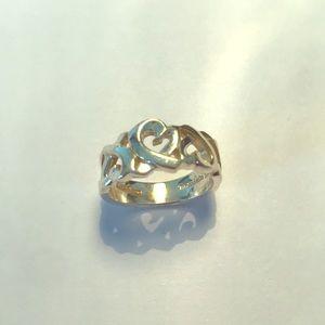 Tiffany & Co Paloma Picasso Heart Ring, 5.75